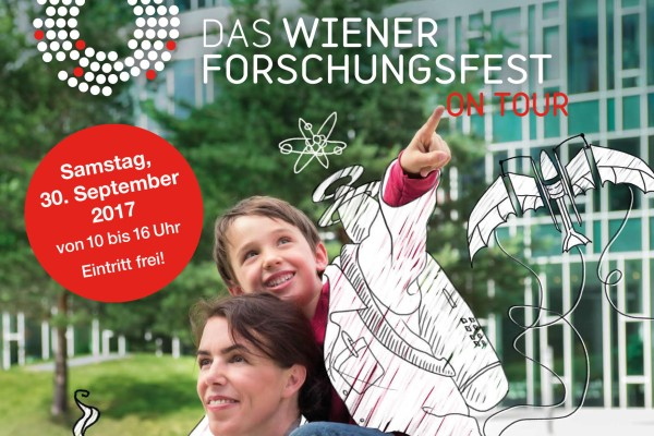 Plakat Forschungsfest on Tour 2017
